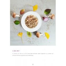 sarrasin sauté crevettes champignons